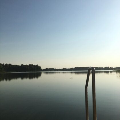 Snaigyno ežeras, Veisiejai